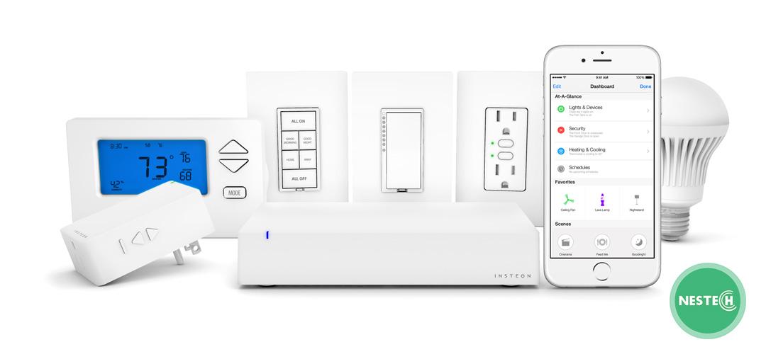 هاب خانه هوشمند یکی از تجهیزات هوشمند سازی است. این دستگاه محصولات خانه هوشمند را به یکدیکر متصل می کند. به واسطه این دستگاه میتوان تجهیزات خانه ی هوشمند را کنترل کرد.